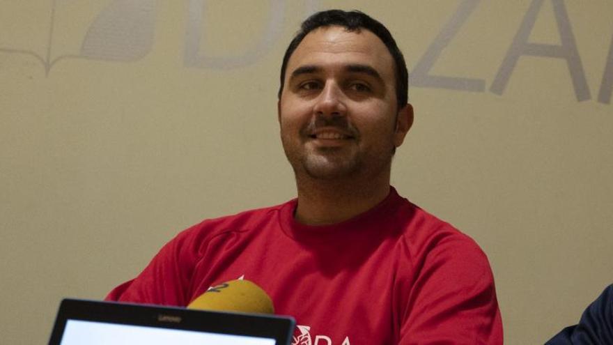 Leo Alvarez, entrenador del Rutas del Vino Zamora