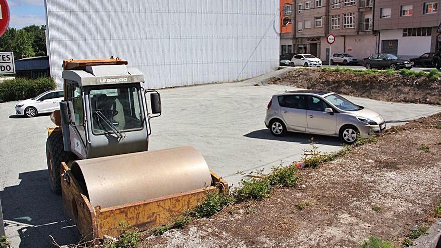 La Avenida de Santiago estrena su nuevo parking