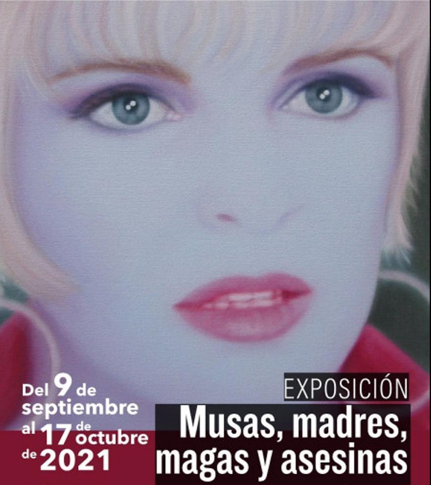 Exposición Musas, madres, magas y asesinas de Josie McCoy