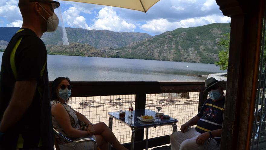 A 30 grados en el Lago de Sanabria