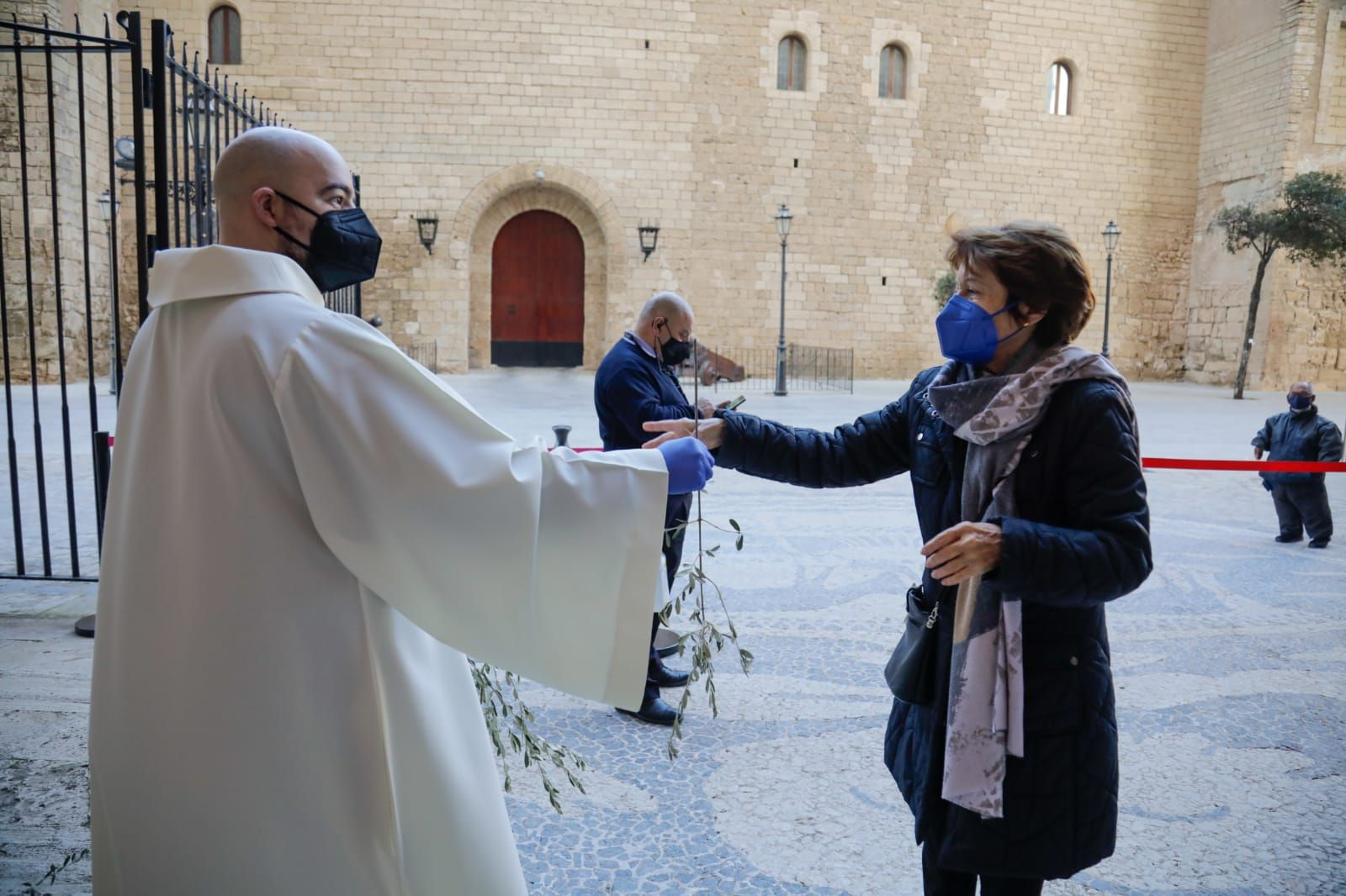 Domingo de Ramos sin procesión en Palma