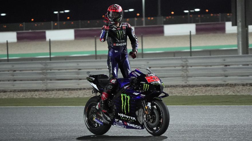Así queda la clasificación de MotoGP tras el GP de Doha
