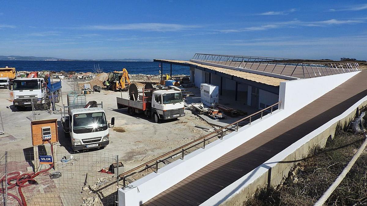 Terminan las obras de la nueva Cofradía de Pescadores de Formentera
