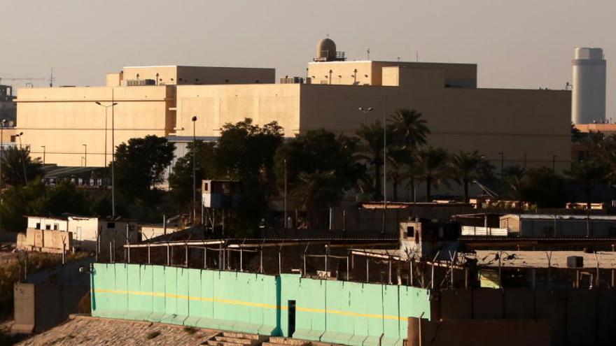 Un cohete impacta en la Embajada de EEUU en Bagdad