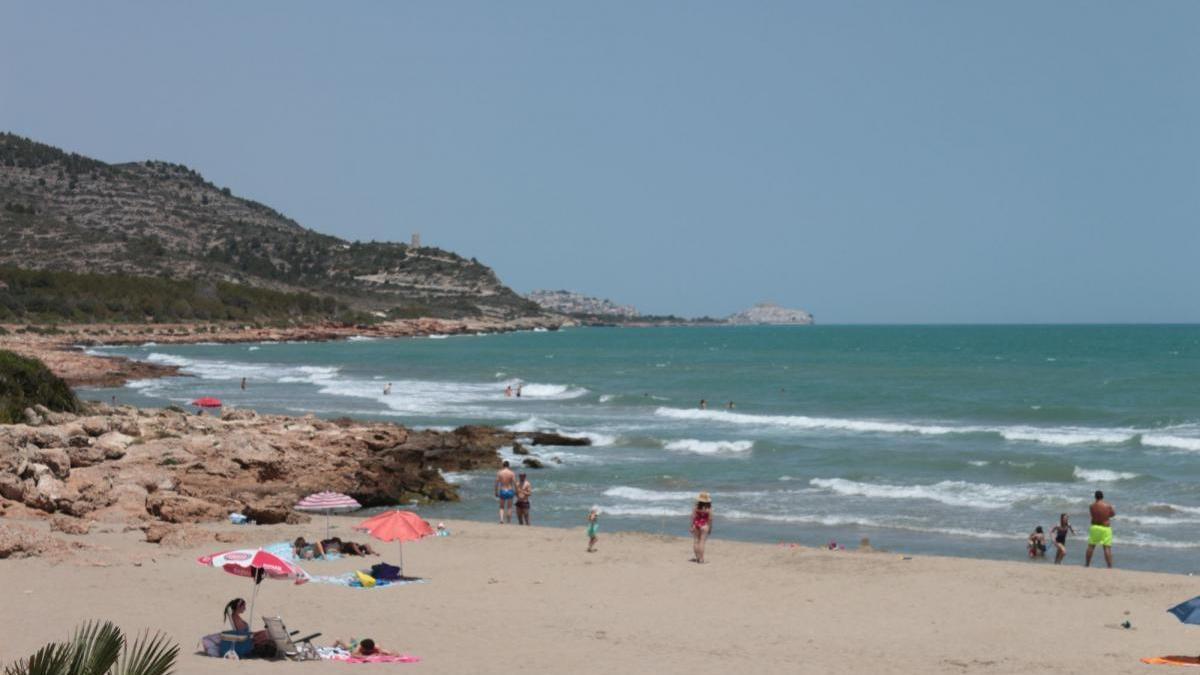 Imagen de la playa del Pebret.