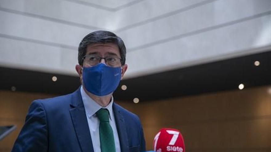 """Marín considera que el sondeo del Centra refleja que la gestión de la Junta de la pandemia recibe una """"valoración positiva"""" ciudadana"""