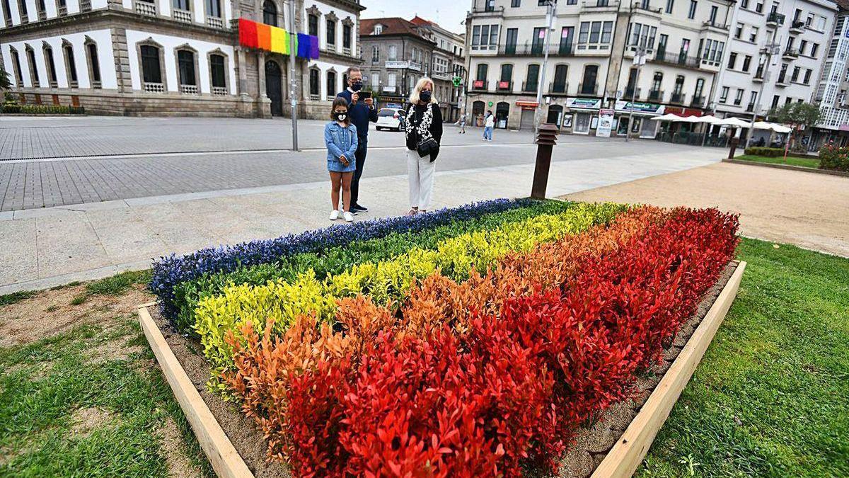 Plaza de España, uno de los espacios donde se situaron las primeras intervenciones efímeras.