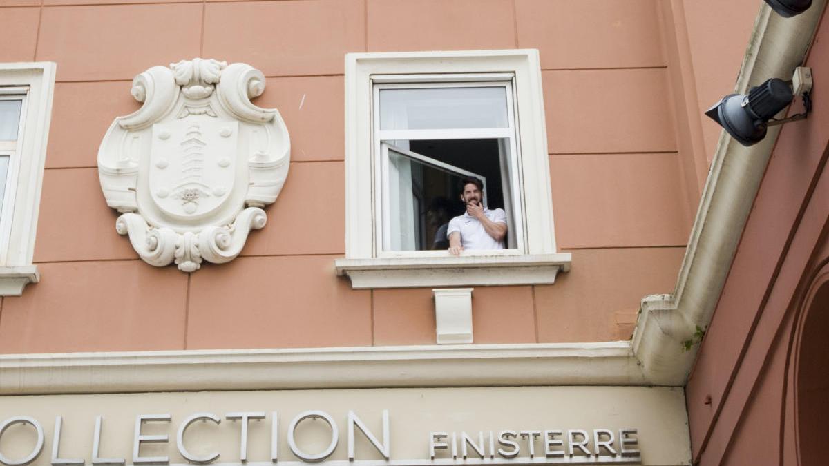 Un miembro del Fuenlabrada, en aislamiento en el hotel Finisterre.