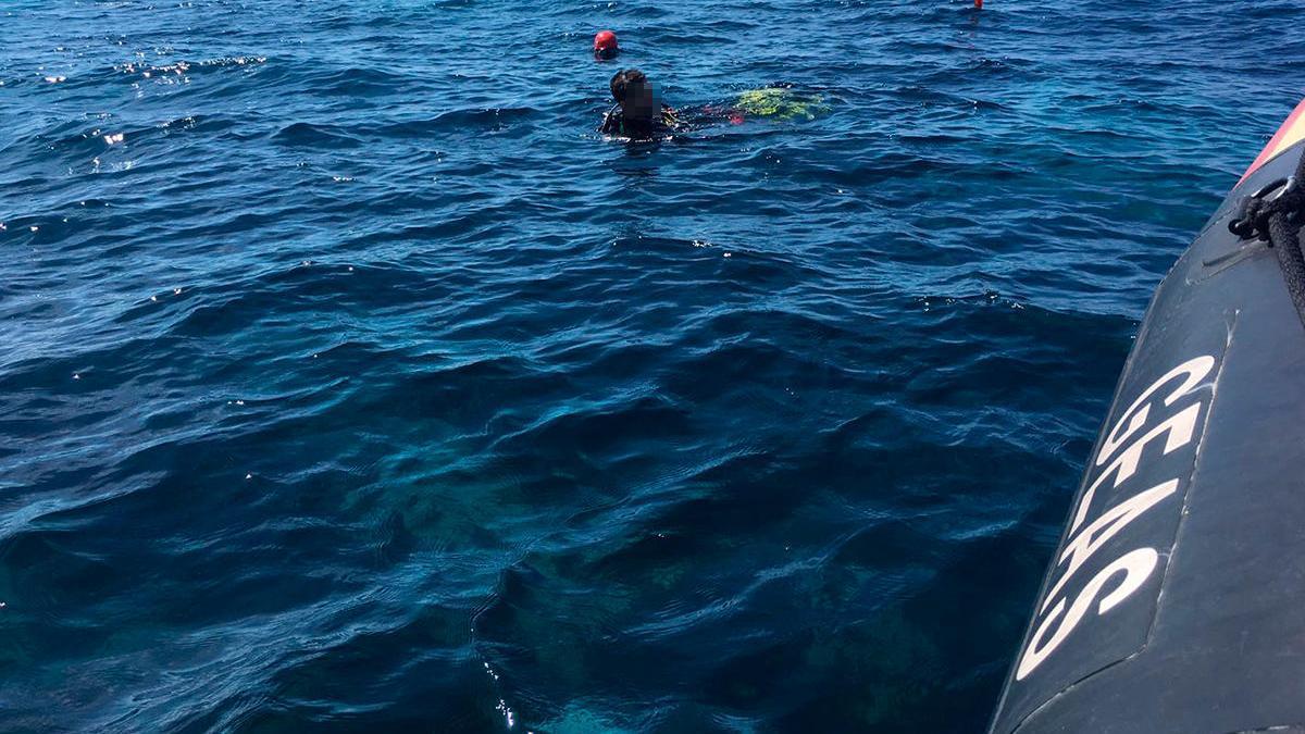 Buscan en Mallorca el cuerpo de Fernando Garfella, desaparecido a 70 metros de profundidad
