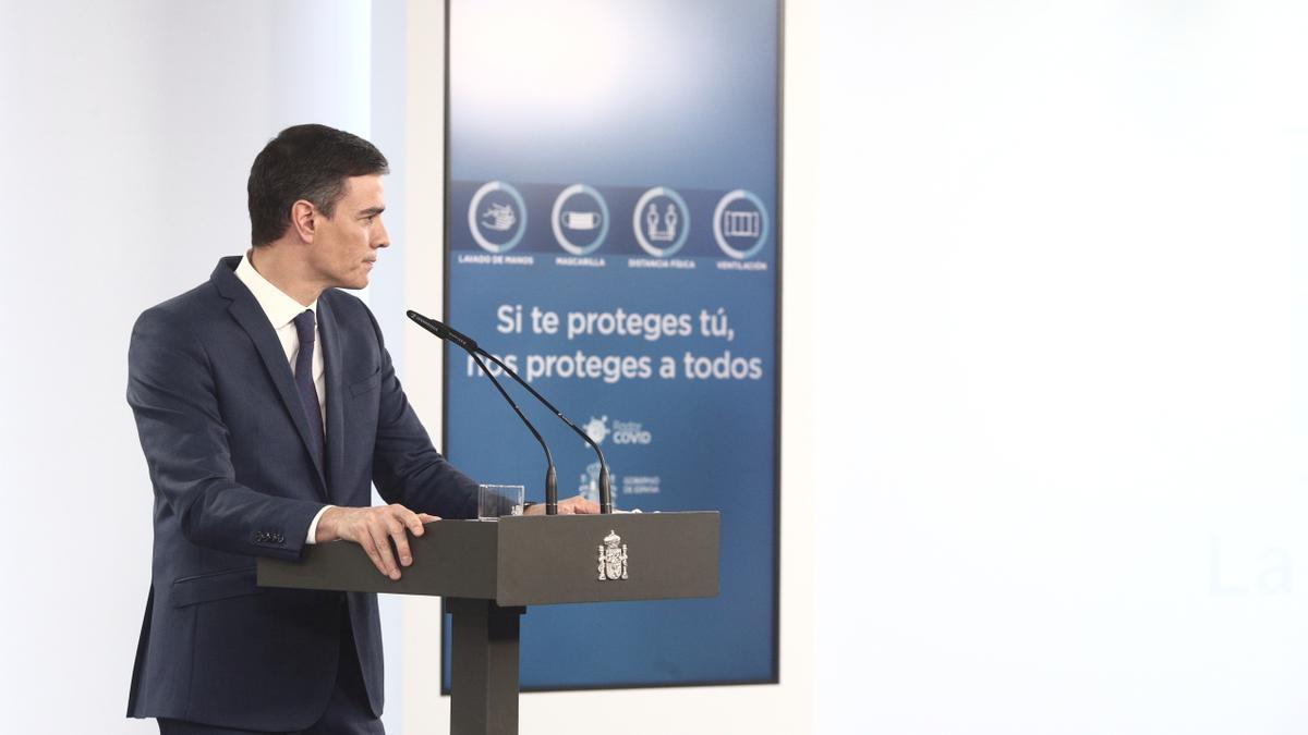 Una imagen de Pedro Sánchez.