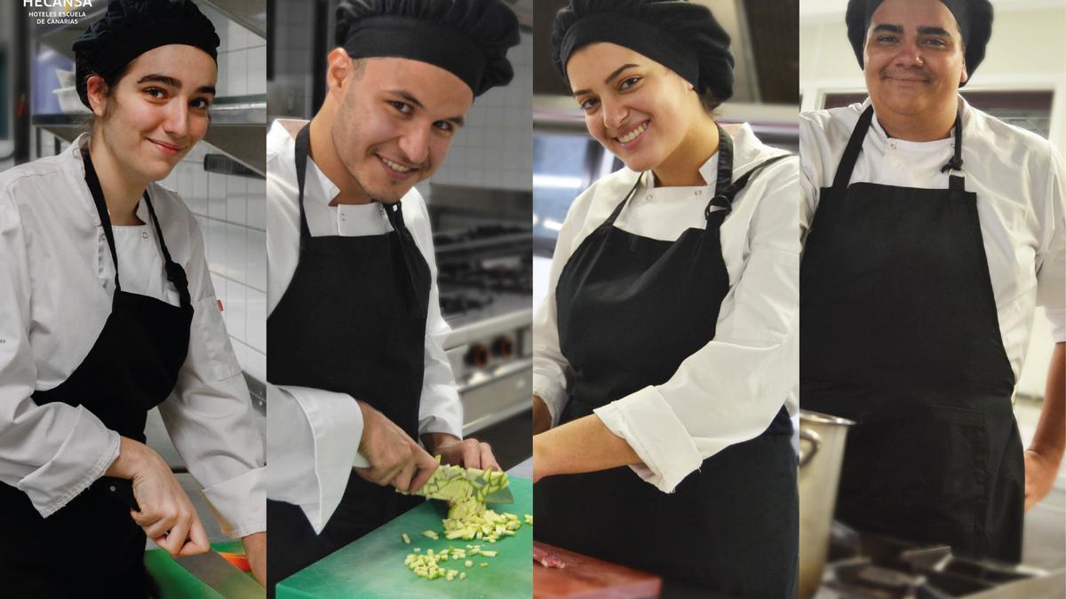 Alumnos seleccionados para participar en la semifinal del IX Premio Promesas de la Alta Cocina Le Cordon