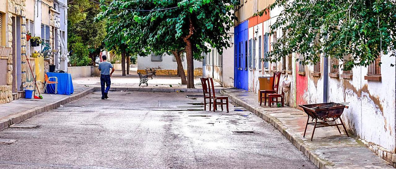 El barrio está inmerso desde hace años en un proceso de degradación urbanística