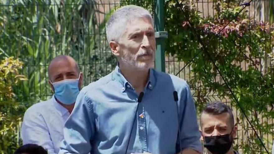 """Marlaska, muy duro con el PP de Aznar: """"Mintieron y siguen mintiendo"""""""