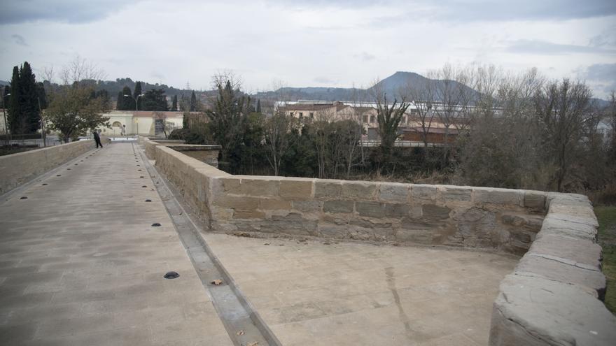 Inversió de 275.000 euros al Pont Nou de Manresa