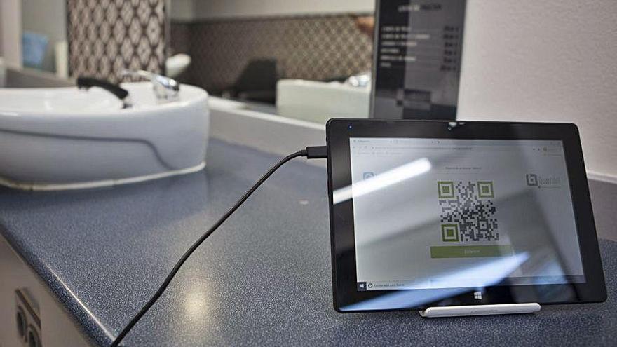 Una tecnológica local impulsa un registro sin contacto para seguir el rastro de los clientes