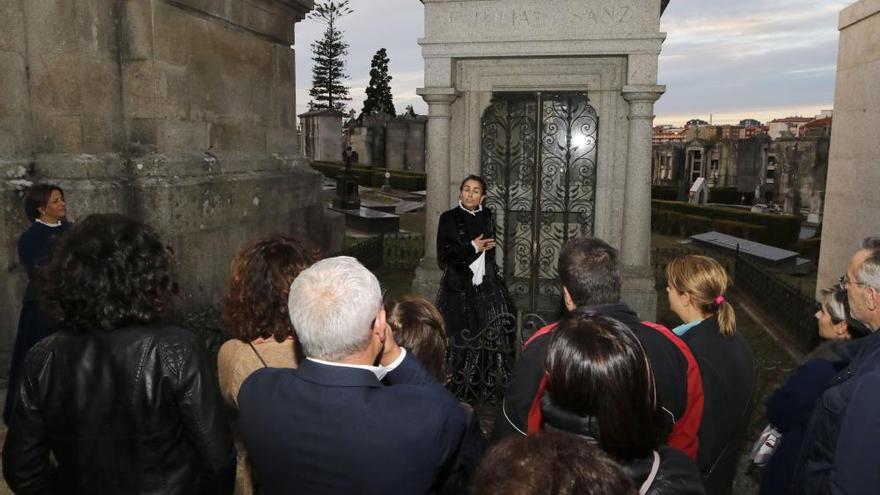 Abre la inscripción para otras 15 visitas guiadas al cementerio de Pereiró
