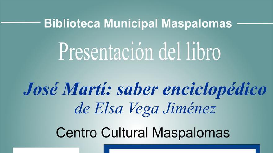 Presentación Libro 'José Martí: saber enciclopédico'