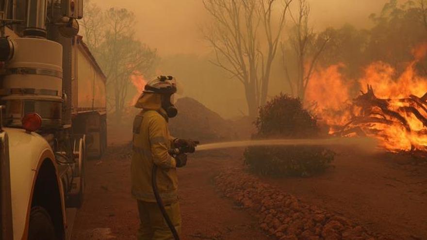 El incendio forestal del suroeste de Australia se agrava