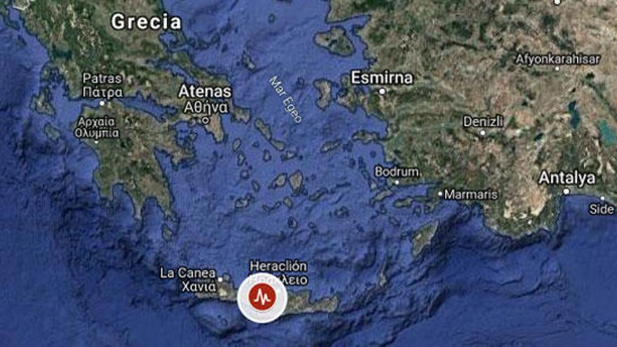 Un terratrèmol de 6,1 graus sacseja l'illa de Creta