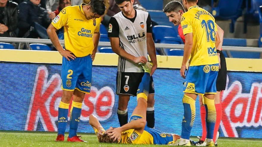 La lesión de Sergi Samper no reviste gravedad y queda en una sobrecarga