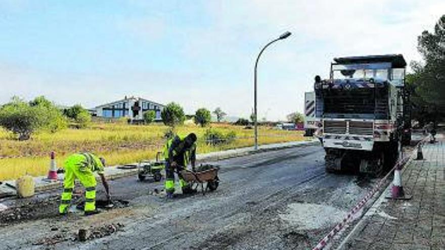Igualada comença un pla d'asfaltatge d'una quinzena de vials de la ciutat
