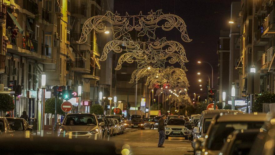 Veinte calles comerciales tendrán las luces de Navidad para el Black Friday
