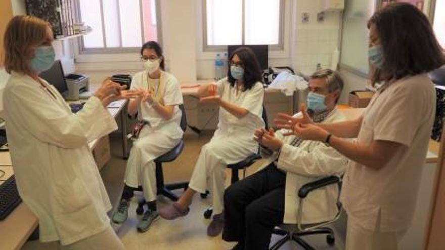 El Trueta forma sis professionals pel compliment de la higiene de mans
