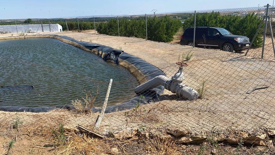 Dos temporeros mueren ahogados en una balsa de riego en un pueblo de Zaragoza