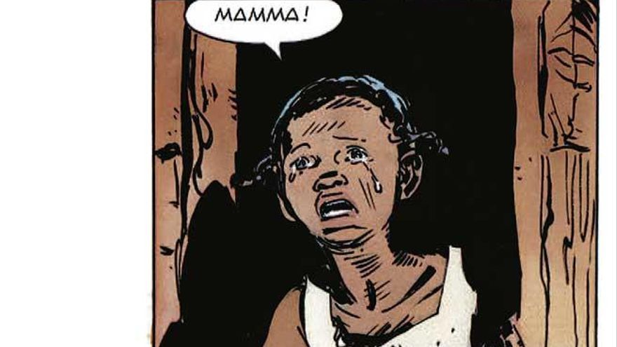 Una pobre niña negra