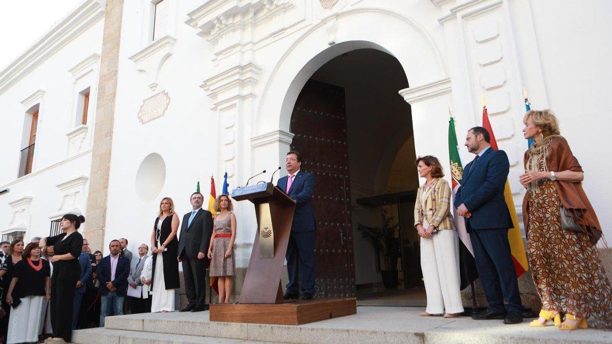 """Vara: """"España está en deuda con Extremadura y los extremeños somos de exigir y de cumplir"""""""
