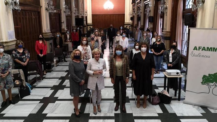 Amparo Mora Castellá asume la presidencia de AFAMMER en la Comunidad Valenciana