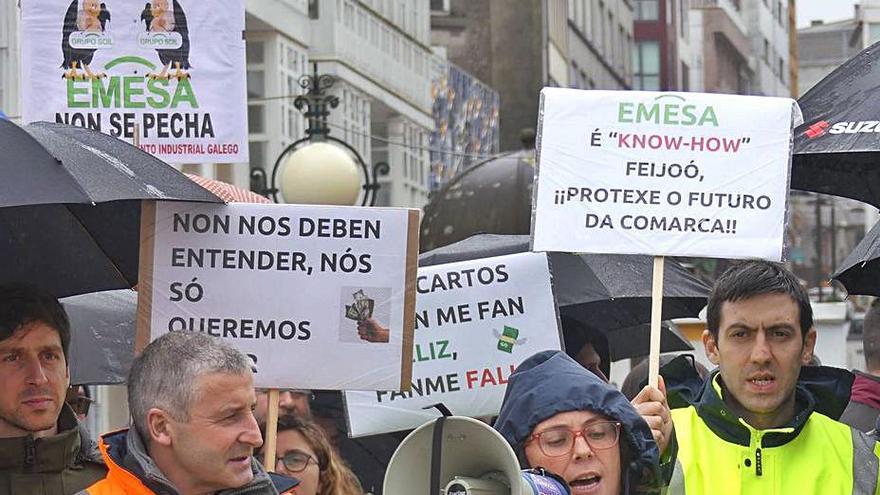 La plantilla de Emesa, en un limbo: sin cobrar en espera del despido y la liquidación