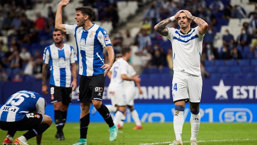 El Espanyol toma aire y ahoga a un Alavés que sigue sin ganar