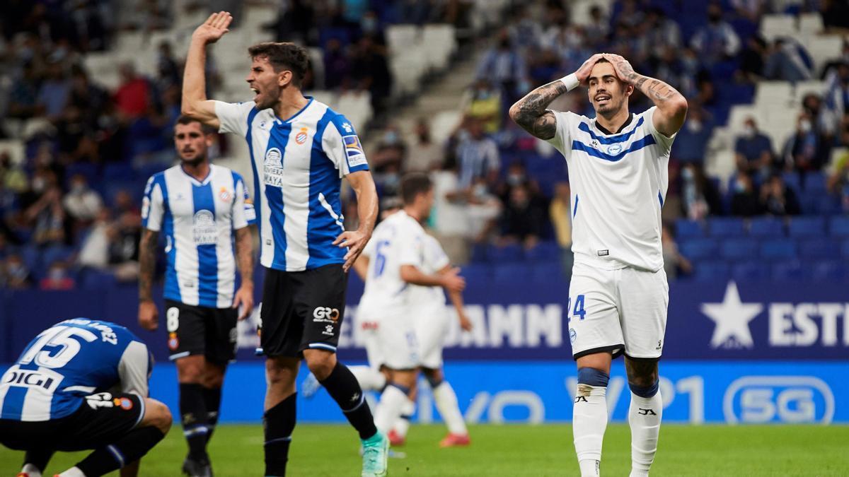 El Espanyol logra su primer triunfo.
