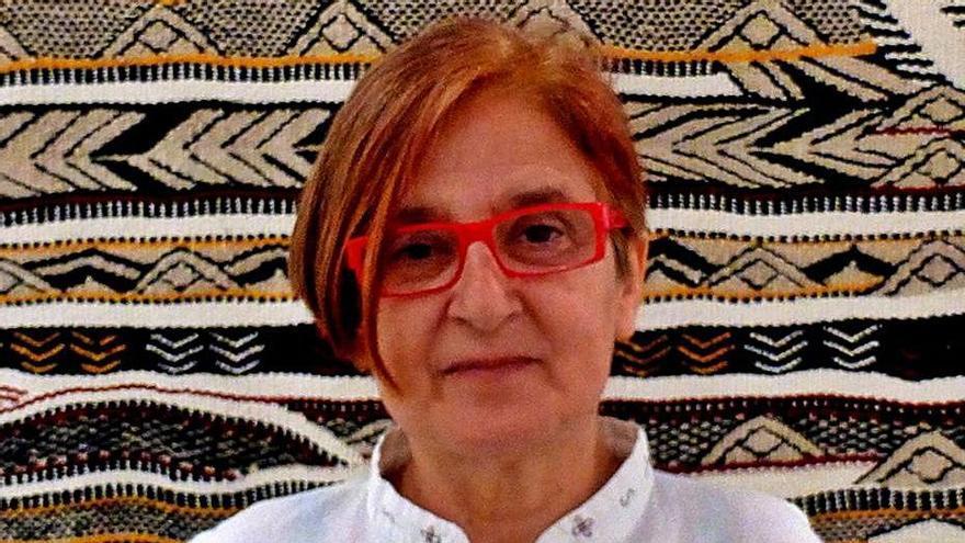 En la imagen superior, un retrato de Teresa Lanceta.