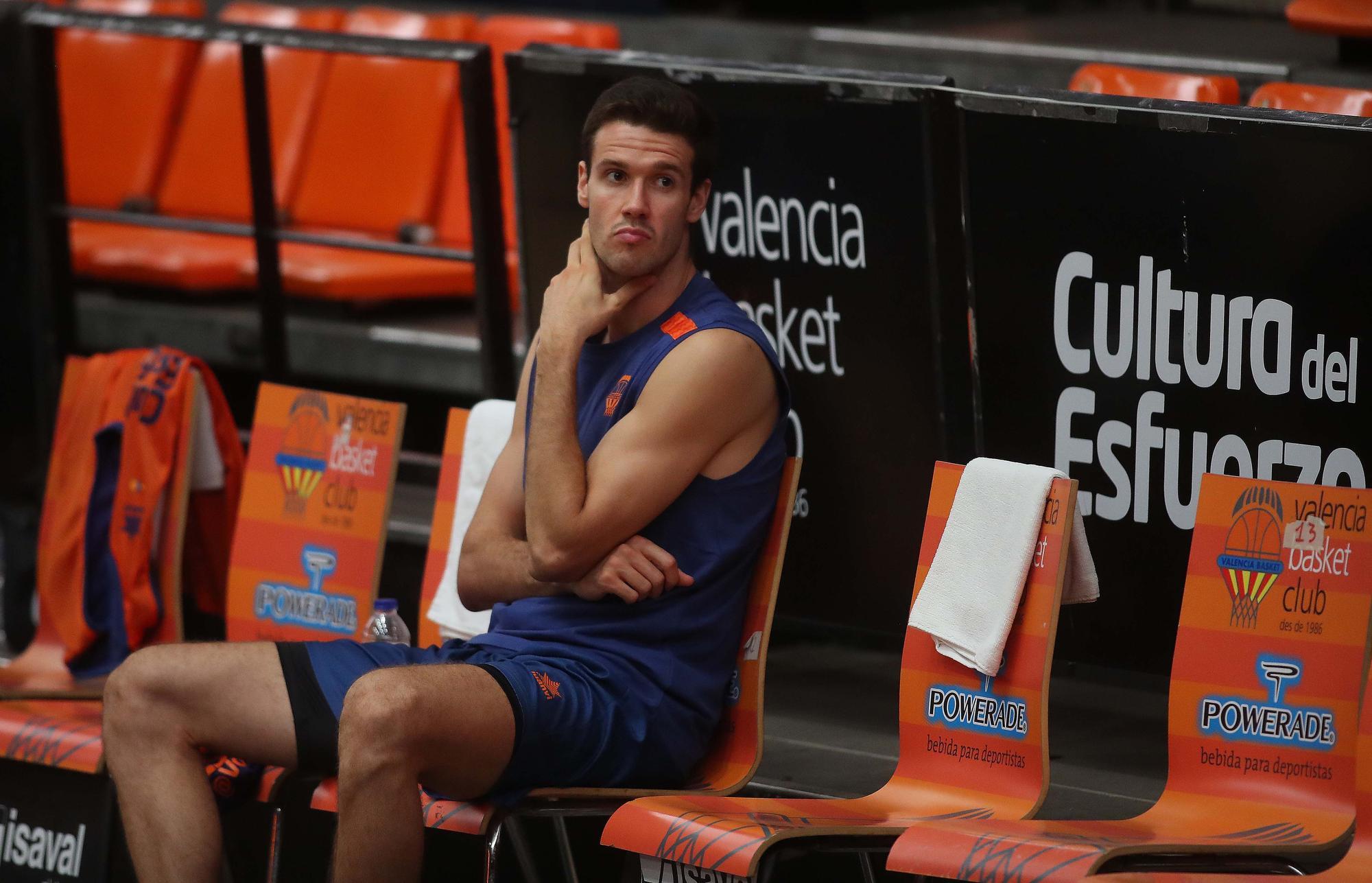 Primer Entrenamiento del Valencia Basket