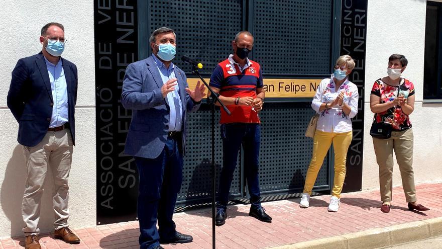 San Felipe Neri estrena una nueva sede vecinal