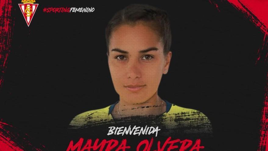Mayra Olvera, nuevo refuerzo del Sporting femenino