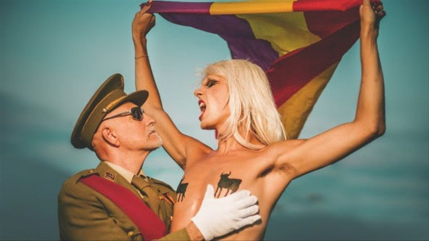 «Paco, paquillo sexy caudillo»: El polèmic vídeo de Samantha Hudson