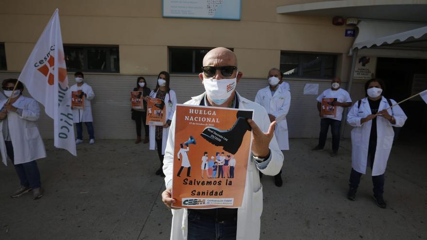 Primer día de huelga de los médicos contra las medidas del Gobierno