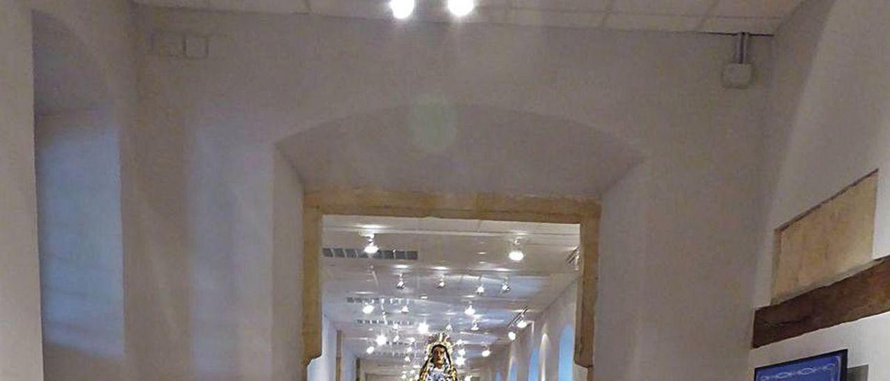 El Santo Sepulcro, expuesto en el Museo de la Semana Santa de Villaviciosa.