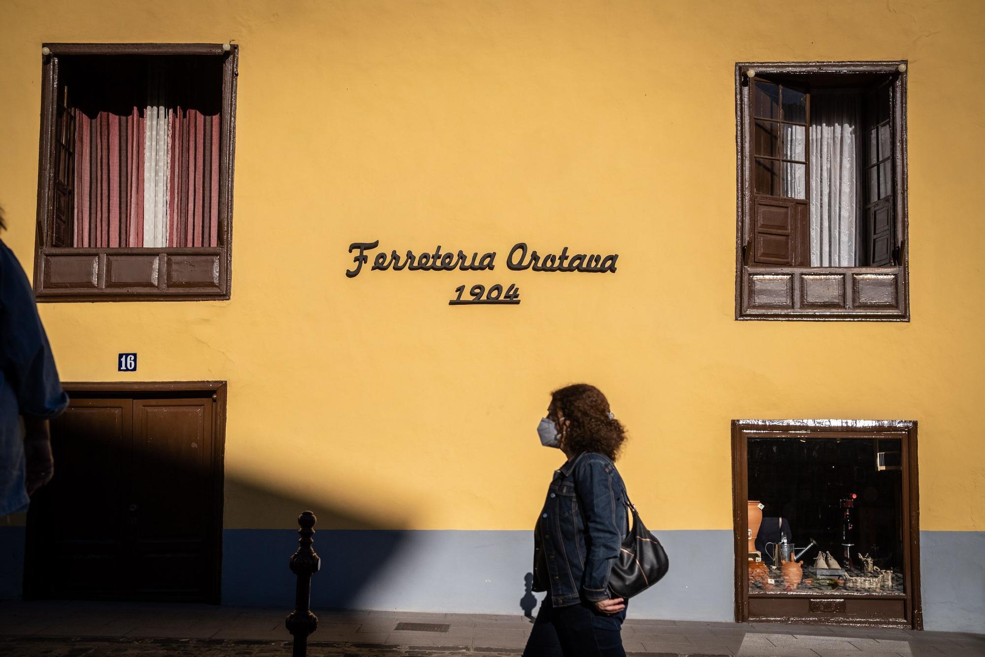 Ferretería Orotava, fundada en 1904