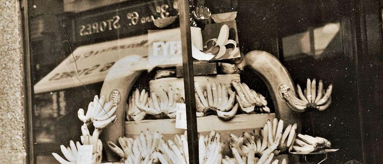 Comercio de Fyffes en Covent Garden Archivo J.L.Y.