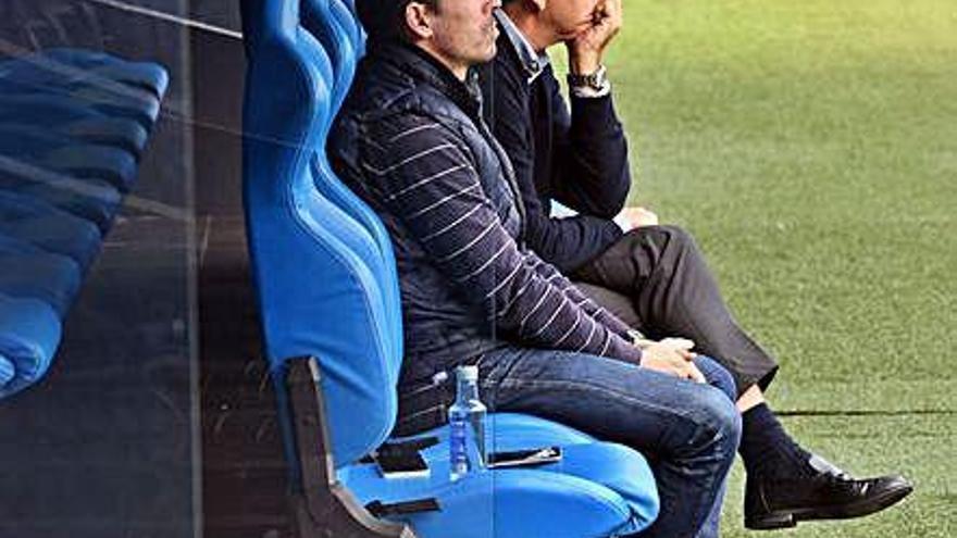 Paco Zas siguió la sesión con Carmelo del Pozo