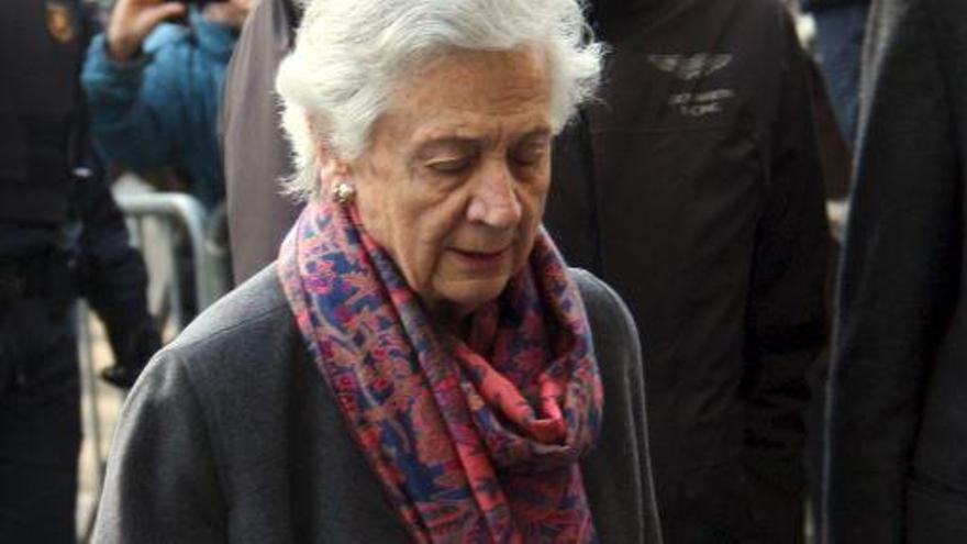 """Marta Ferrusola i Oriol Pujol visiten a l'hospital Jordi Pujol, que """"està bé"""""""