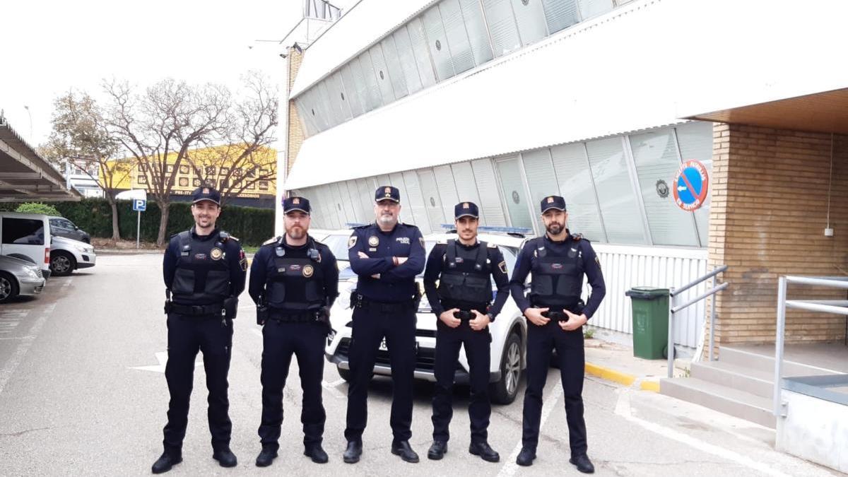 La Policía de Paterna refuerza su plantilla ante la COVID-19 con nuevos agentes