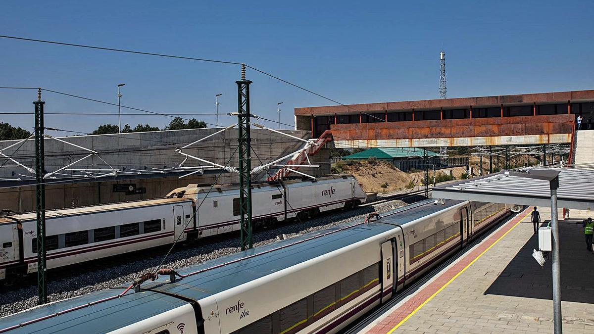 Estación de Sanabria Alta Velocidad en Otero de Sanabria.