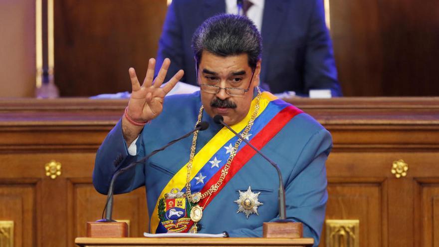 """Maduro pide a Biden acabar con la """"demonización"""" de Venezuela"""