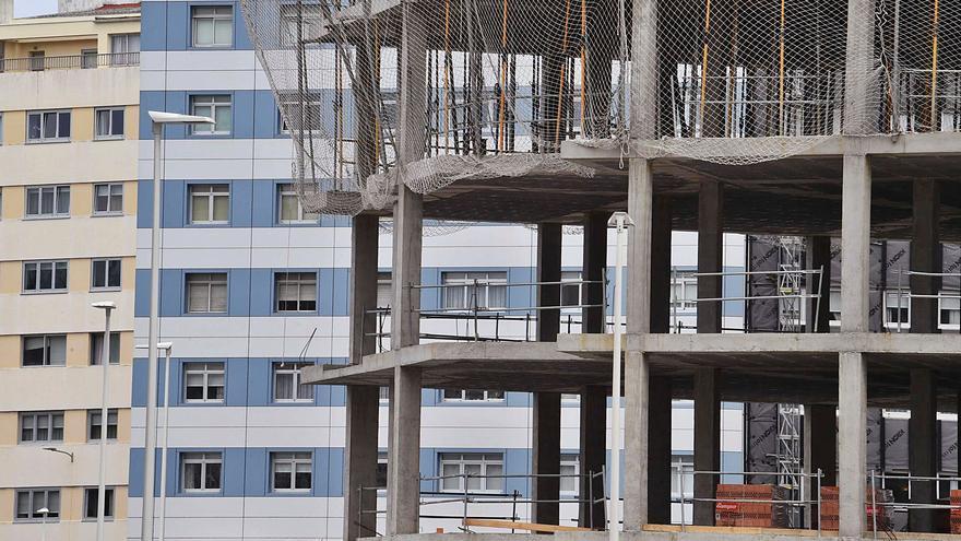 La construcción pierde en tres meses la mitad de empleos que creó en los últimos tres años