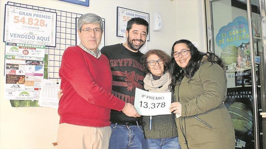 El 13.378 deja en Priego un buen pellizco